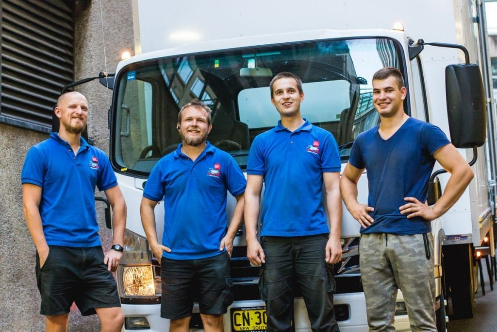 Our removals team