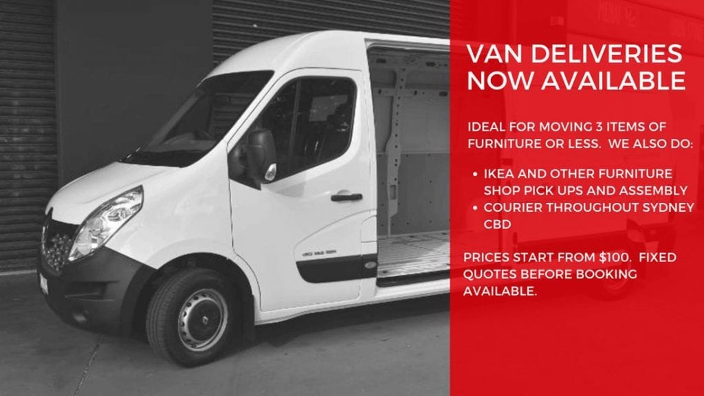 van deliveries removals