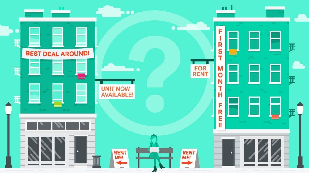 how to find a good rental property and move in